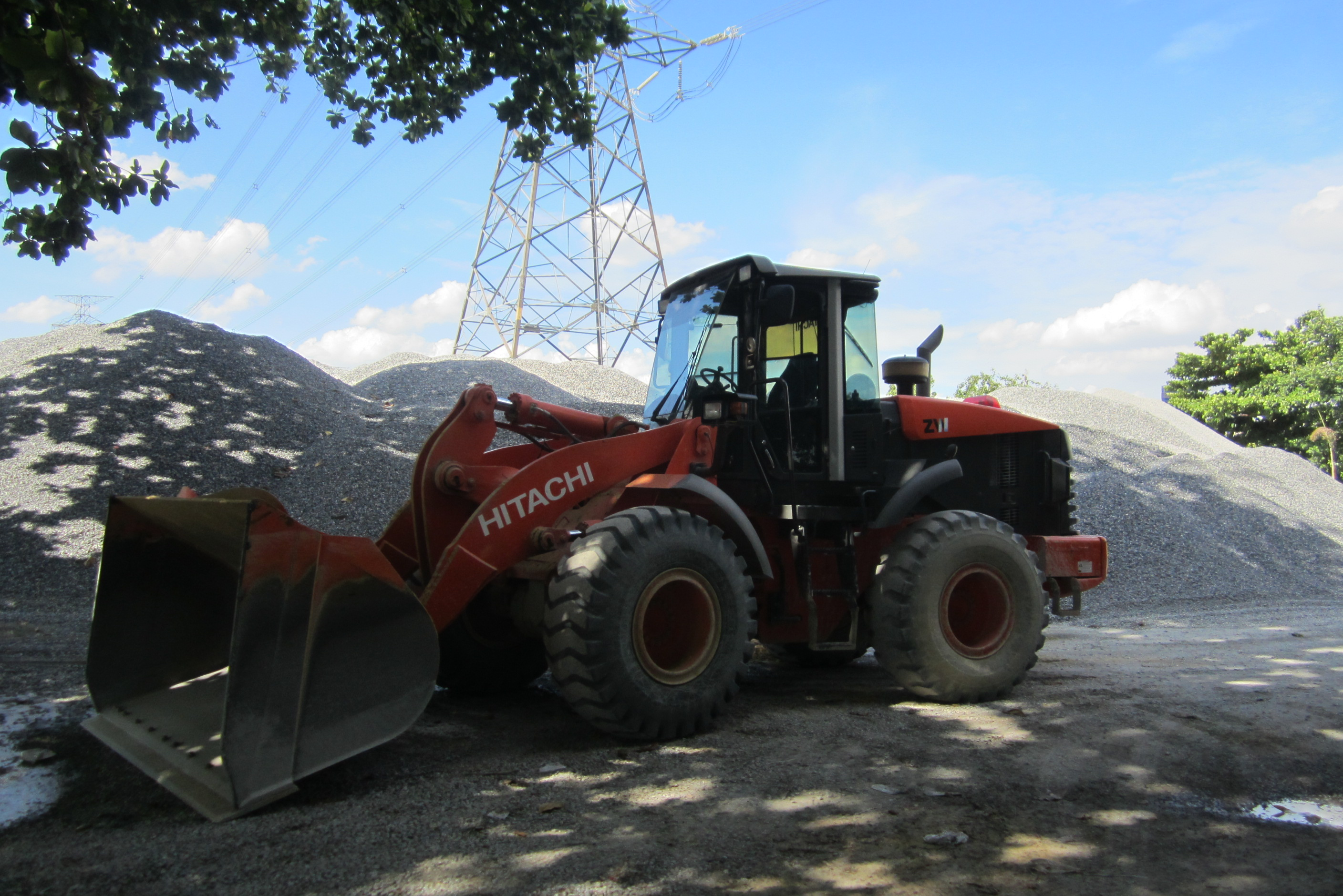 wheel loader hitachi